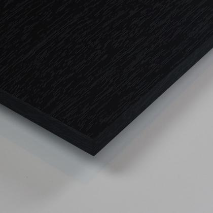 Dekorholz Schwarz Feinpore Matt - Holzzuschnitt