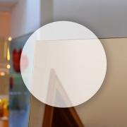 Rahmenloser Spiegel - Bronze - Rund