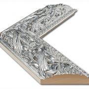Balto Silber Echtholz - Bilderrahmen