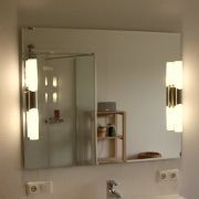 Bastone Duo II Badspiegel - Leuchtspiegel