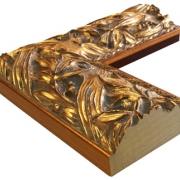 Balto Gold Echtholz - Bilderrahmen
