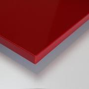 Dekorholz Rot hochglanz - Holzzuschnitt