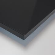 Dekorholz Schiefergrau hochglanz - Holzzuschnitt