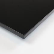 Dekorholz Schwarz (hochglanz) - Holzzuschnitt