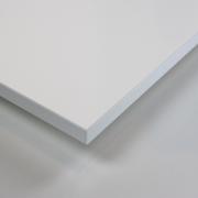 Dekorholz Weiß (hochglanz) Holzzuschnitt