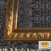Bruss Gold Echtholz - Bilderrahmen