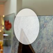 Rahmenloser Spiegel - Antik - Oval