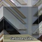 getöntes Glas