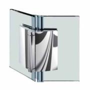 Glas - Glas Scharnier 135 Grad nach außen öffnend