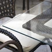 OptiWhite-Tischglas