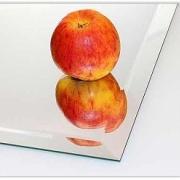 (0301) Kristall-Spiegel 50 x 40 cm mit 25 mm Facettenschliff