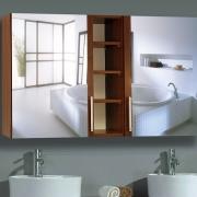Spiegelschrank MidSpace mit Farb- und Größen-Auswahl
