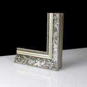 Padua Silber Echtholz - Bilderrahmen