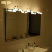 Savoy III LED Badspiegel - Leuchtspiegel