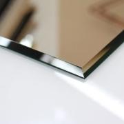 (0201) Kristall Spiegel 70 x 50 cm 8 mm Steil Facette