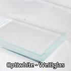 OptiWhite - Weißglas / Klarglas