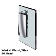 Glas - Wand Verbinder 90 Grad