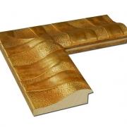 Zebrana Grande Gold Echtholz - Bilderrahmen