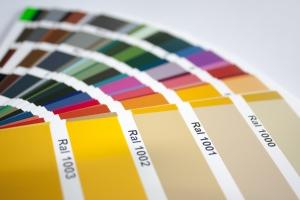 lackiertes Sicherheitsglas - ESG - matt - in RAL-Farbe