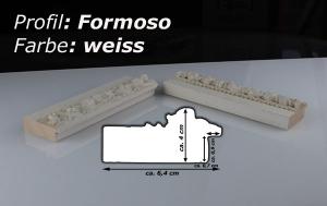 Formoso Weiß Musterleiste
