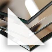 Rahmenloser Spiegel - Klar - Dreieck