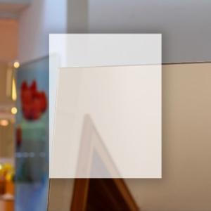 Rahmenloser Spiegel - Bronze