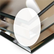 Rahmenloser Spiegel - Klar - Oval