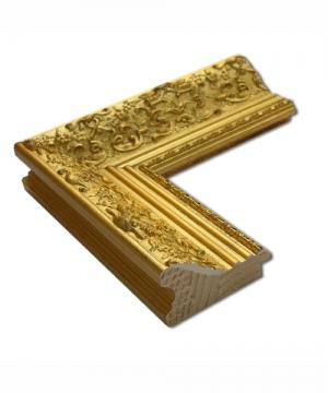 Fla Gold Echtholz - Bilderrahmen