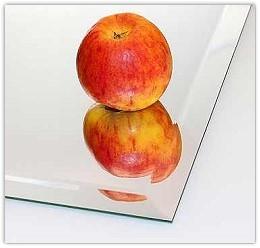 (0305) Kristall-Spiegel 100 x 70 cm mit 25 mm Facettenschliff