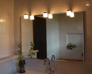 Quadra LED III Badspiegel - Leuchtspiegel
