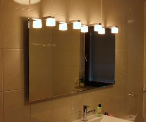 Quadra LED IV Badspiegel - Leuchtspiegel