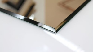 (0204) Kristall Spiegel 100 x 70 cm 8 mm Steil Facette
