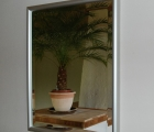 .SanDiego Metropolis Alu-Rahmen-Spiegel