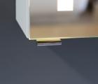 Spiegelschrank Mystic LED Outline II Dreitürig mit Farbauswahl