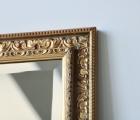 Degan Gold Echtholz-Wandspiegel