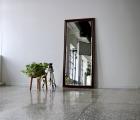 Anziano Echtholz-Wandspiegel
