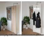 Drehspiegel Giare in 55 x 180 cm mit Kleiderhaken