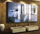 Spiegelschrank Armadio Line II mit Farb- und Größen-Auswahl
