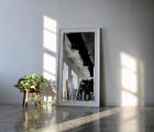 Alice Weiß Echtholz-Wandspiegel