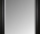 Elegante schwarz Echtholz - Bilderrahmen