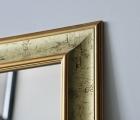 Bussa Gold Echtholz-Wandspiegel