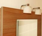 Gusto auf Holzrückwand mit Farb- & Leuchtenauswahl