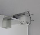 Quadra LED II Badspiegel - Leuchtspiegel