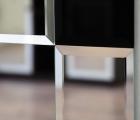 Rocky Kristall-Schwarz Designspiegel