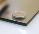 (0102) Kristall Spiegel 80 x 60 cm polierte Kante