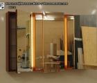 Spiegelschrank Fabi LED mit Farb- und Größen-Auswahl