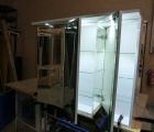 Spiegelschrank Faton LED mit Farb- und Größen-Auswahl