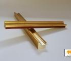 Turin Gold Echtholz - Bilderrahmen