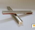 Turin Silber Echtholz - Bilderrahmen