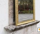 Faggio Hochglanz Echtholz-Wandspiegel